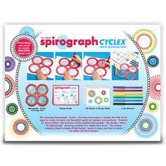 Kahootz Spirograph Cyclex 29 PCS