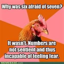 The rooster is right!