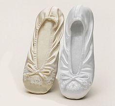 Lace Ballet Wedding Shoes Limited Edition Flats Bridal Slippers Crystals And Pearls Shoe Pinterest