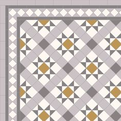 Victorian and Contemporary Geometric Floor Tile Designs Victorian Hallway Tiles, Tiled Hallway, Hallway Flooring, Floor Patterns, Tile Patterns, Hall Tiles, Art Deco Tiles, Hallway Inspiration, Rustic Design