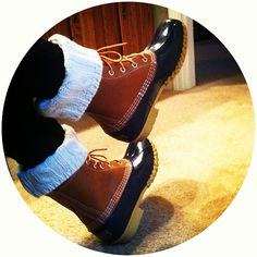 How to Wear: L.L. Bean Duck Boots
