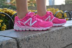 Sport your pink all year long. Featured: Lace Up for the Cure(R) 3190s by New Balance.