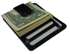 New Men Dollar High Quality Slim Money Clip Credit Card Holder Wallet ID Card Kq