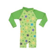 UV 50+ SPF All In One Suit  - Light Avocado Green