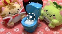 Marimo Marshmallow Toilet candy