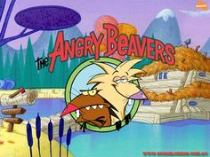 "Childhood Nickelodeon cartoon, ""The Angry Beavers"". 90s Tv Shows, Childhood Tv Shows, 90s Childhood, Kids Shows, Childhood Memories, School Memories, Best 90s Cartoons, Old Cartoons, Classic Cartoons"