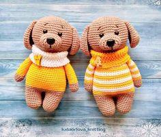 Dog in Sweater Amigurumi Doll: Free Crochet Pattern! : Dog in Sweater Amigurumi Doll: Free Crochet Pattern!
