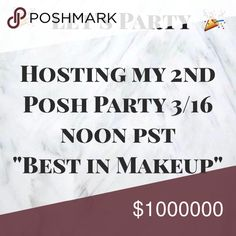 Hosting My 2nd Posh Party \