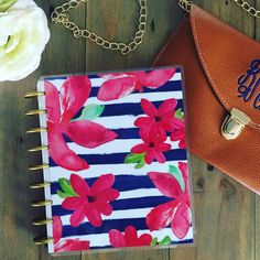New bag from PoppyPine matches this nautical planner cover perfectly ⚓️❤️⚓️ planner cover by StylishPlanner on Etsy Planner Covers, New Bag, Nautical, Trending Outfits, Unique Jewelry, Handmade Gifts, Inspiration, Bags, Vintage