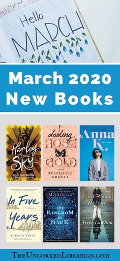 March 2020 Book Releases Reading List: Are you looking for new books to read that you might have missed? Don't skip these March book releases. Must Read Fiction Books, Historical Fiction Novels, Books You Should Read, Feel Good Books, Great Books To Read, New Books, March Book, Indie Books, Thriller Books