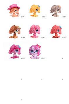 Lps Dog, Lps Pets, Little Pet Shop, Little Pets, Shopkins Girls, Lps For Sale, Komondor, Lps Littlest Pet Shop, Dragon Crafts