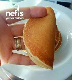 Gorgeous Golden Pancake – Delicious Recipes – About Healthy Desserts Beignets, Perfect Pancake Recipe, Pancakes, Sin Gluten, Turkish Recipes, Desert Recipes, Popular Recipes, Healthy Desserts, Yummy Cakes