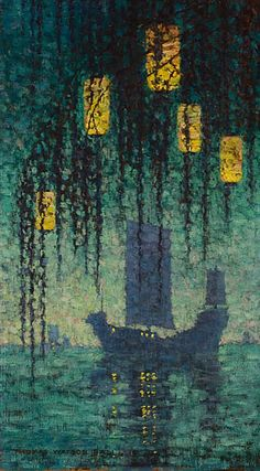 Chinese Twilight          Thomas Watson Ball (1863 - 1934)