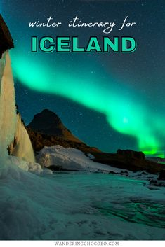 Are you thinking about traveling to Iceland in the winter? Here's the ultimate winter in Iceland Itinerary, including where to go in Iceland and travel tips for Iceland in winter. I things to do in Iceland I Iceland road trip I road trip in Iceland I travel itinerary for Iceland I Iceland travel I Iceland winter itinerary I winter travel in Iceland I places to see in Iceland I travel in Iceland I places to go in Iceland I places to visit in Iceland I Europe Travel l Iceland travel I #Iceland Iceland Travel Tips, Europe Travel Guide, Travel Guides, Travel Destinations, Best Winter Vacations, Road Trip Europe, Winter Travel, European Travel, Travel Inspiration