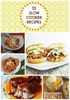 Slow Cooker Recipes :: 25 Crock Pot Recipes for Fall