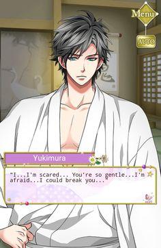 "Yuki: ""I...I'm scared...You're so gentle...I'm afraid...I could break you..."" #SamuraiLoveBalladParty #StoryEvent #Epilogue #ClaimMeAtLastMyNobleLove"