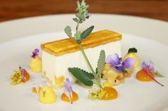 Coconut Mousse, Pineapple Gelee, Pina Colada Cremeux, Mango Gel, Tropical Fruits