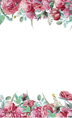 Texture painted flowers, Watercolor Flower, Simple PNG Image