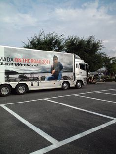 Shogo Hamada using concert truck