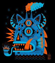 Seb NIARK1 FERAUT / PSYCHO MONSTERS – Marine Monster