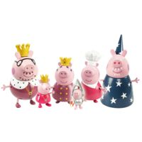 Figurines La Famille Peppa Pig Noël 2015