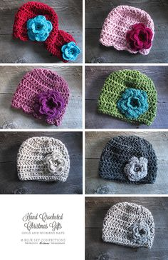 Blue Sky Confections: Hand Crocheted Christmas Gifts