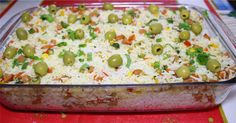 O arroz de natal é uma das receitas mais fáceis de fazer para a ceia, simples de fazer, fica muito gostoso e todo mundo vai amar. Receita de Arroz de Natal