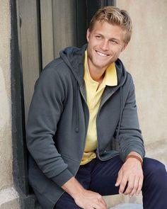 Independent Trading Co. Men's Full Zip Hooded Sweatshirt – ComfortWearables