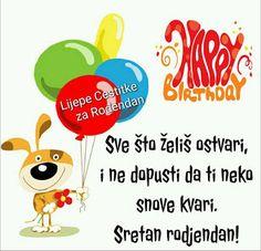 sretan rođendan poruke 156 best Sretan Rodjendan images on Pinterest | Happy b day  sretan rođendan poruke