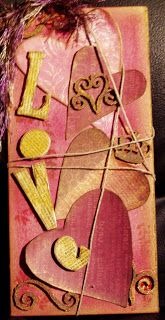 Valentine Tags | Psychodiva's Collage and Assemblage