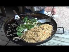 Pork Lo Mein with my discada or cowboy wok