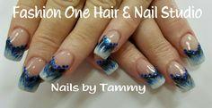 Marbling nails