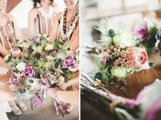 Handmade Atlanta Wedding with Lots of Textiles: Emily + Kevin