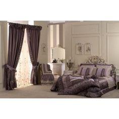 Coordinato letto in seta viola. http://www.lineahouse.it/product.php?id_product=150