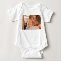 Custom Photo Baby Wear Tee Shirt
