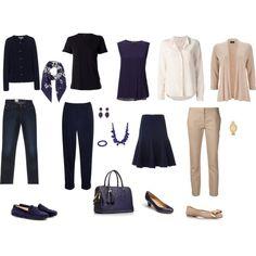 Capsule wardrobe, Navy