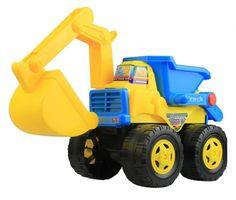 Wheel Excavator Plastic Excavator Model Toy Toy Vehicles Beach Toy