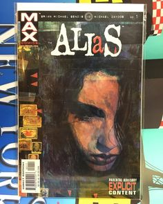 Decided to round out my #FirstAppearanceFriday #Defenders collection and scored an #Alias #1 on eBay last week.  #1stAppearance #JessicaJones #comiccollecting