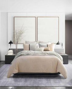 Top Minimalist Bedroom Interior Design Ideas For Your Inspiration - Introduce elegance, style, tradition and comfort in your bedroom with antique furniture. Refurbish your old recliners and bed sets and use them in you. Cozy Bedroom, Home Decor Bedroom, Bedroom Ideas, Bedroom Brown, Bedroom Furniture, Bedroom Neutral, Kids Bedroom, Bedroom Black, Bedroom Storage