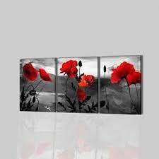 Cuadro moderno de flores malva SP012 cuadros decoracion flores