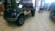 For 25k you can get a Ford raptor golf cart ( i.imgur.com )