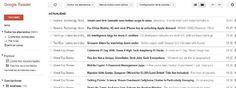 Cinco alternativas web a Google Reader / @pablogbej @diarioturing | Google Reader dejará de existir el 1 de julio. Los usuarios que utilicen el servicio tienen que ir preparándose para exportar sus suscripciones en un archivo OPML e integrarlas en otra plataforma | #reference