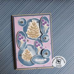 Deze kaart heeft Ingrid Nellen (www.inkycards.nl) gemaakt met de kleurencombinatie van augustus. Hiervoor heeft ze de Watercolor Shapes gebruikt om de afbeeldingen van Christmas Season op te matten. De spreuk is afkomstig uit Natuurlijk Voor Altijd. De kaart is afgemaakt met spetters in de achtergrond en wat bling. #prullekekleurencombinatie #watercolorshapesstampset #christmasseasonstampset #natuurlijkvooraltijd #stampinup #prulleke #stampinupnederland #stampinupdemonstratricde #inkycards Bling Bling, Stampin Up, Stamping Up