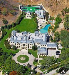 Mansion Homes, Dream Mansion, Celebrity Mansions, Celebrity Houses, Millionaire Homes, Mega Mansions, Luxury Homes Dream Houses, Dream Homes, Modern Mansion