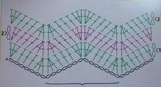 Image result for rochii crosetate manual scheme