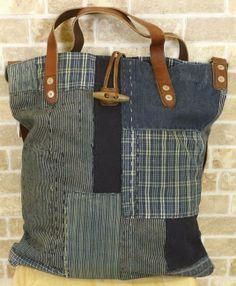 POLO RALPH LAUREN Blå Patchwork Cross-Body Bag