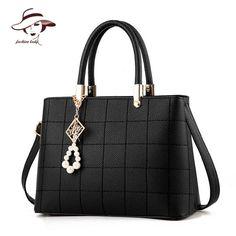 Women Fashion PU Leather Purses and Handbags Messenger Tote Bag Handle Satchel Handbags - Black - - Women's Bags, Satchel Bags Leather Satchel Handbags, Tote Handbags, Purses And Handbags, Leather Purses, Pu Leather, Cheap Handbags, Cheap Purses, Popular Handbags, Ladies Handbags