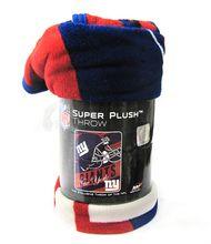 "NEW YORK GIANTS - NFL FOOTBALL - SUPER PLUSH THROW BLANKET - 46"" X 60"" #SportsMemorabilia #Sports #Memorabilia $36.95"