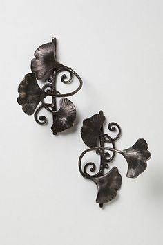 Ginkgo Leaf Tie Back #anthropologie