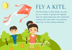 You can create a #kite or buy one for your kid. While flying the kites, kids can #exercise thus increasing the #health to an amazing height.